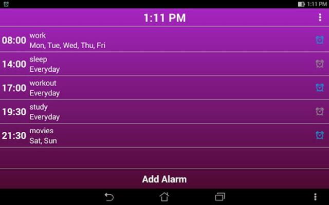 Smart Alarm Clock - Pro screenshot 14
