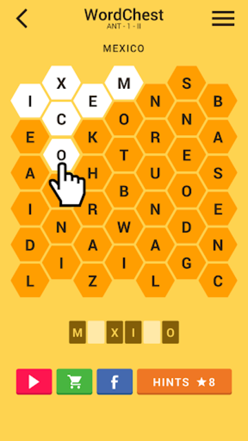 Word Chest Puzzle screenshot 1
