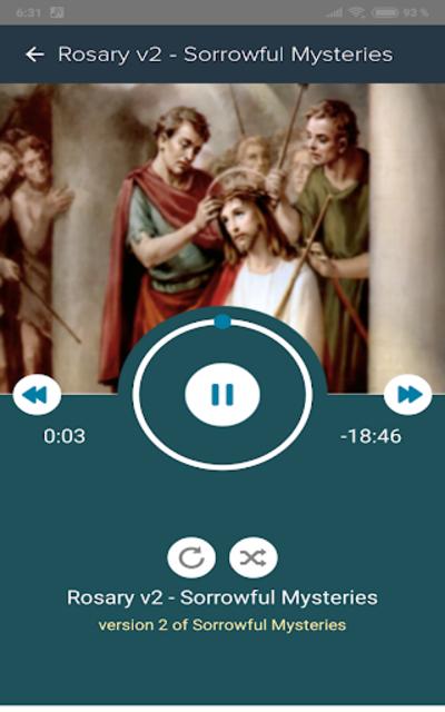 Prayers + Rosary + Bible Audio Pro screenshot 8