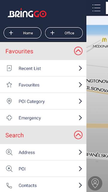 BringGo Eastern Europe screenshot 2