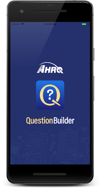 AHRQ Question Builder screenshot 1