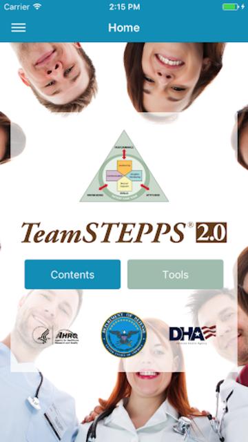 TeamSTEPPS® Pocket Guide screenshot 1