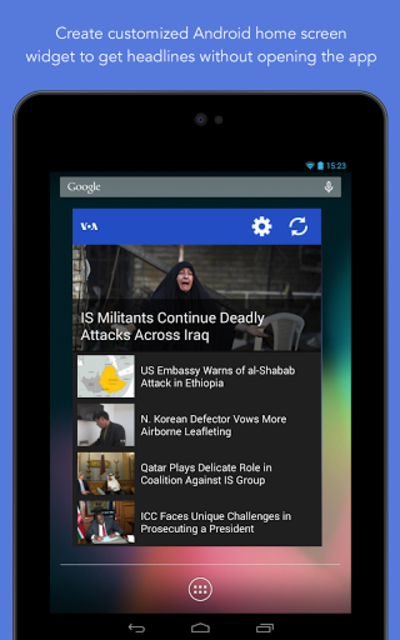 VOA News screenshot 19