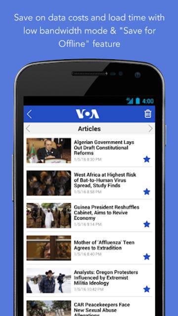 VOA News screenshot 7