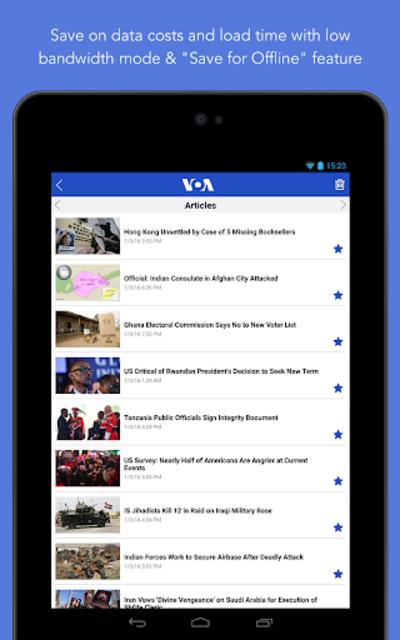VOA News screenshot 23