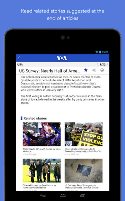 VOA News screenshot 24