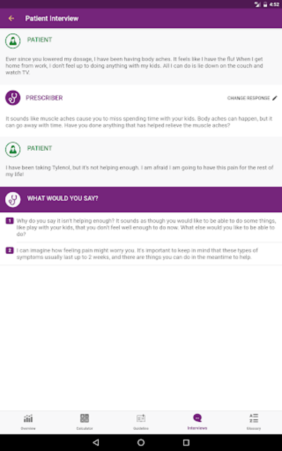 CDC Opioid Guideline screenshot 13