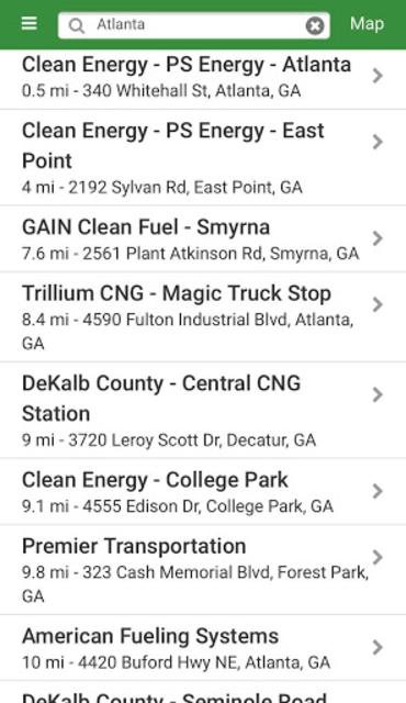 Alternative Fueling Stations screenshot 2