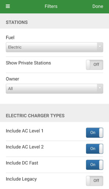 Alternative Fueling Stations screenshot 3