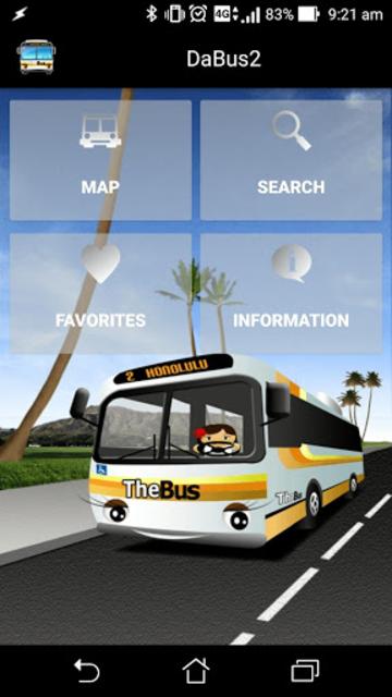 DaBus2 - The Oahu Bus App screenshot 1