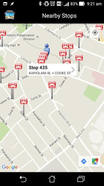 DaBus2 - The Oahu Bus App screenshot 2