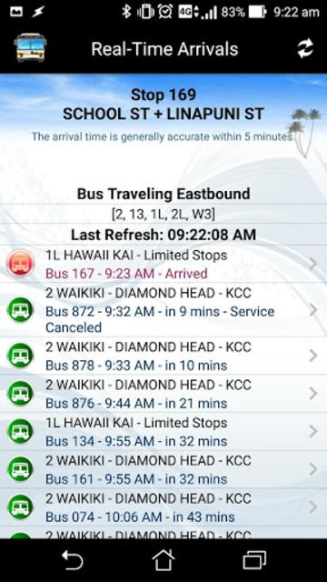 DaBus2 - The Oahu Bus App screenshot 5