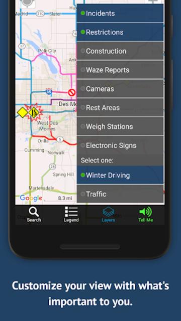 Iowa 511 Trucker screenshot 1