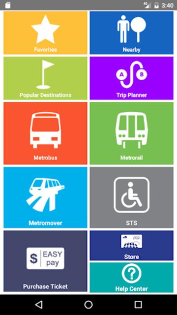 Miami-Dade Transit Tracker screenshot 1