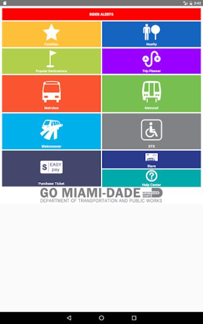 Miami-Dade Transit Tracker screenshot 3
