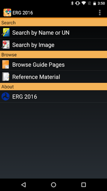 ERG 2016 for Android screenshot 1