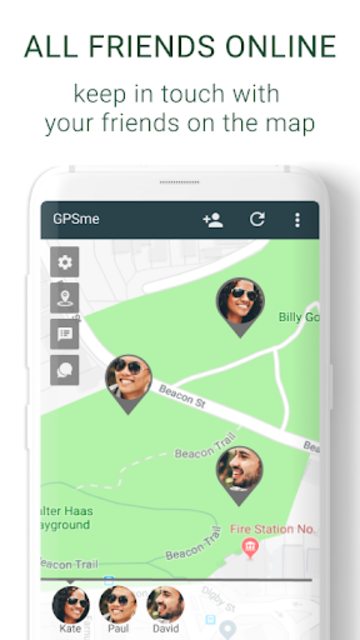 GPSme - me and all my family - on the map! screenshot 3