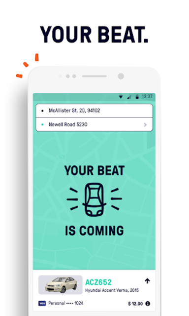 Beat - Ride app screenshot 3