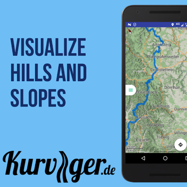Kurviger Pro - Motorcycle and Scenic Roads Navi screenshot 9