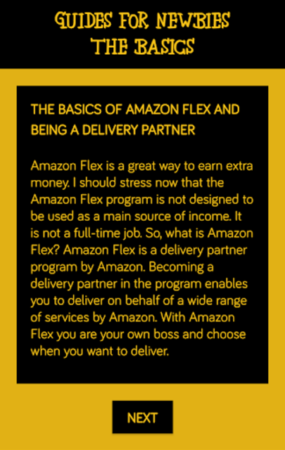 Deliver for Amazon Flex - Guides For Newbies screenshot 2