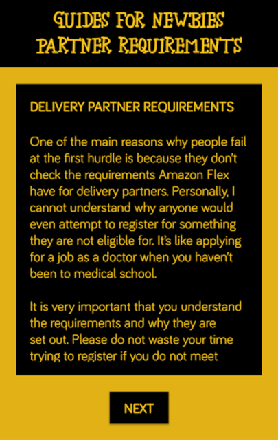 Deliver for Amazon Flex - Guides For Newbies screenshot 3