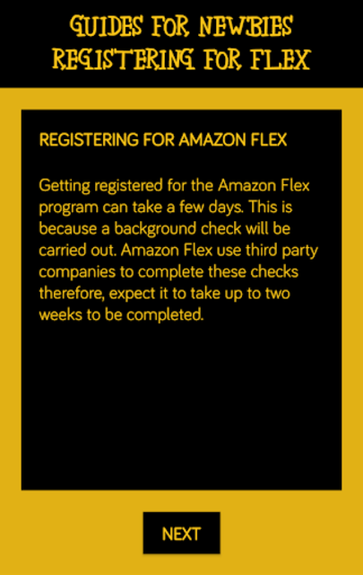 Deliver for Amazon Flex - Guides For Newbies screenshot 4