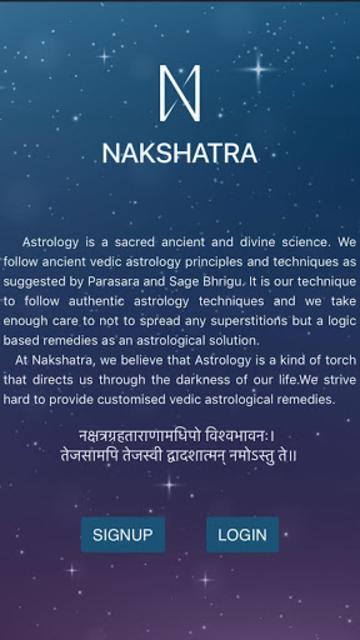 Nakshatra Guru - Astrology Advice & Horoscope screenshot 1