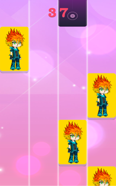 Gacha piano tiles screenshot 1