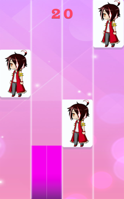 Gacha piano tiles screenshot 2