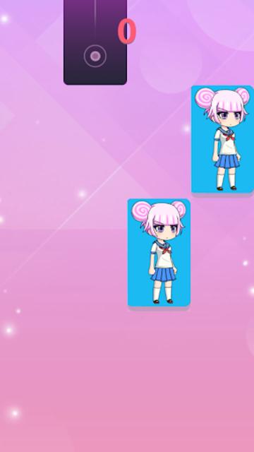 Gacha Piano Tiles pink 2019 screenshot 13