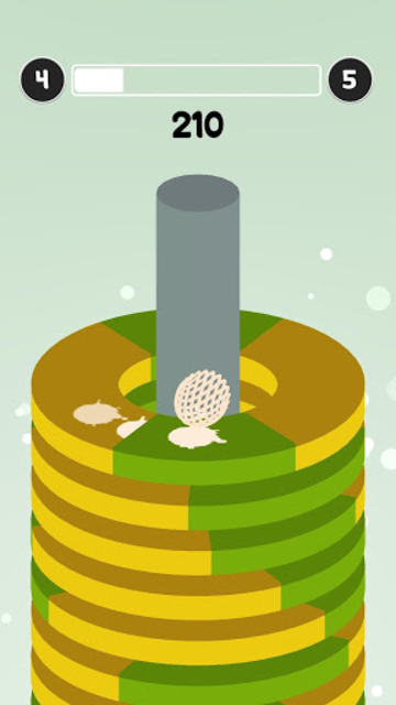 Helix Hoop Ball : Color Smash Game screenshot 10