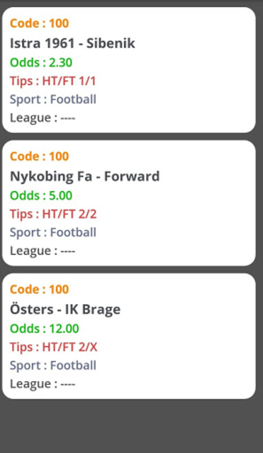 Gold Betting Tips screenshot 1
