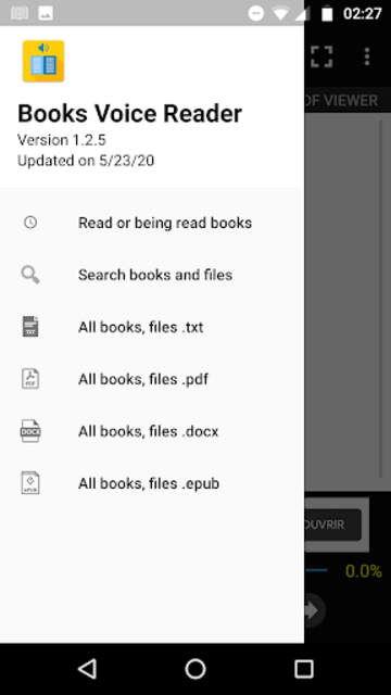 Books Voice Reader screenshot 1