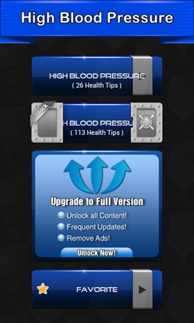 High Blood Pressure Symptoms screenshot 1