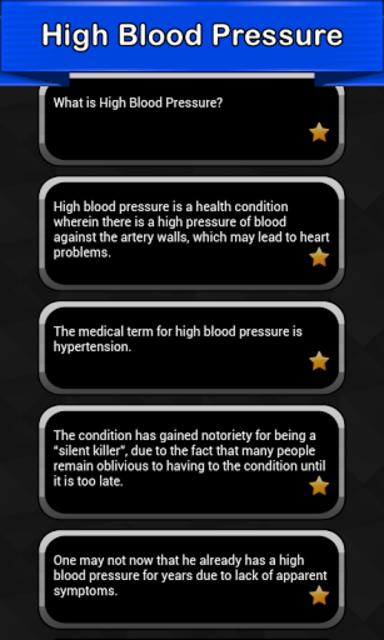 High Blood Pressure Symptoms screenshot 2