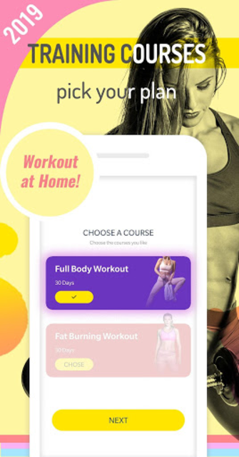 Abs Workout Pal - 7 Minutes Home Fitness App screenshot 1