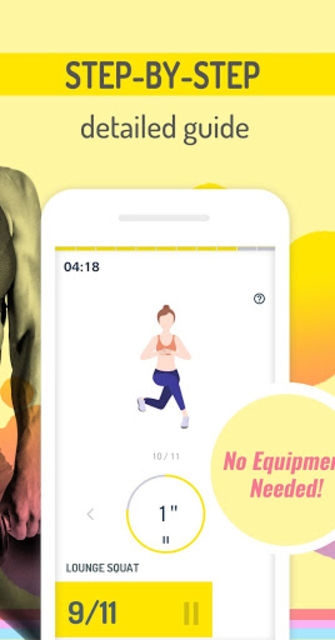 Abs Workout Pal - 7 Minutes Home Fitness App screenshot 2