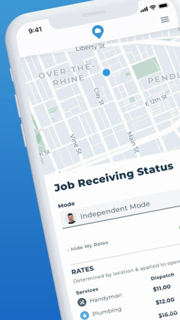 HOMEE Pro: Real Home Services Jobs NOT Leads screenshot 1