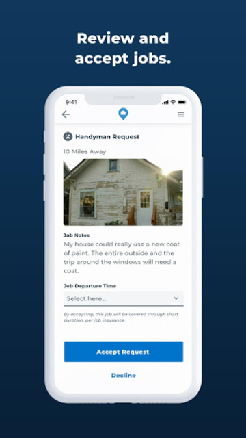 HOMEE Pro: Real Home Services Jobs NOT Leads screenshot 4
