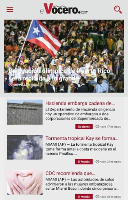 El Vocero de Puerto Rico screenshot 1