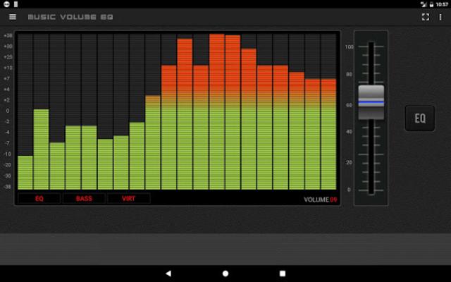 Music Volume EQ - Equalizer Bass Booster Amplifier screenshot 9