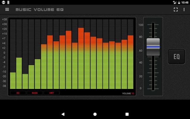 Music Volume EQ - Equalizer Bass Booster Amplifier screenshot 11