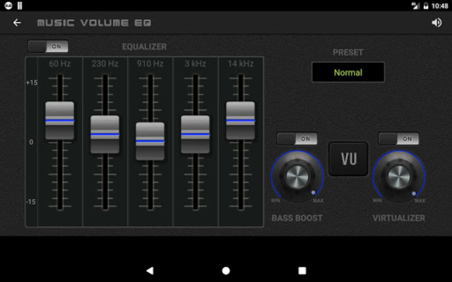 Music Volume EQ - Equalizer Bass Booster Amplifier screenshot 12
