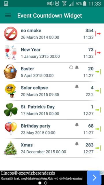 Event Countdown Widget Premium screenshot 2