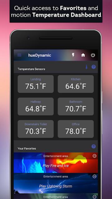 hueDynamic for Philips Hue Pro screenshot 1