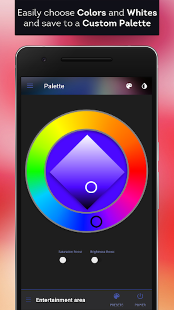 hueDynamic for Philips Hue Pro screenshot 4