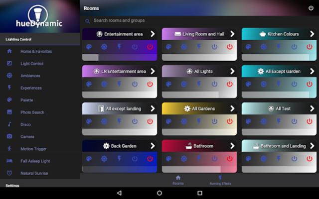 hueDynamic for Philips Hue Pro screenshot 13