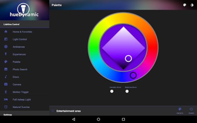 hueDynamic for Philips Hue Pro screenshot 15
