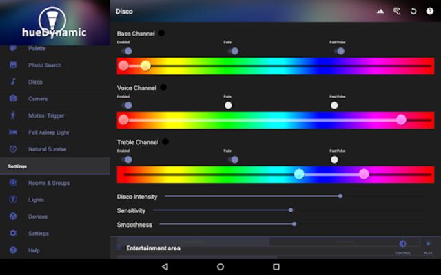 hueDynamic for Philips Hue Pro screenshot 21