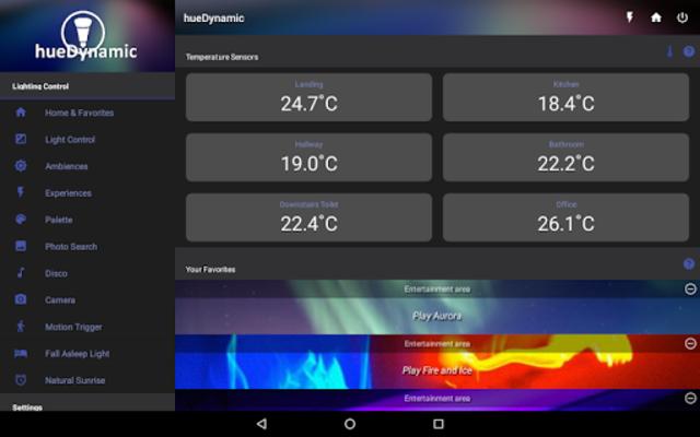 hueDynamic for Philips Hue screenshot 9